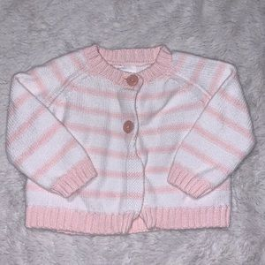 Pink cardigan (3 for $10)
